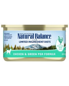 Natural Balance LID Grain Free Chicken and Green Pea Cat 1X24X5.5OZ