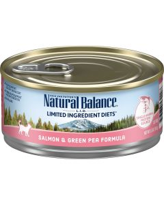 Natural Balance LID Grain Free Salmon and Green Pea Cat 1X24X5.5OZ