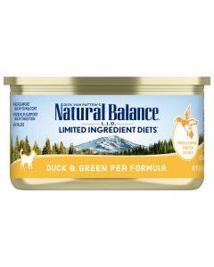 Natural Balance LID Grain Free Duck and Green Pea Cat 1X24X5.5OZ