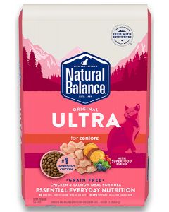 Natural Balance Original Ultra Chicken Grain Free All Life Stages Cat 1X15LB