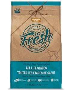 Wholesome Blend All Life Stages Naturally Fresh Chicken and Duck Dog 1X11.36KG