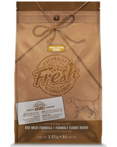 Wholesome Blend Naturally Fresh Pork and Beef Red Meat Dog 1X11.36KG