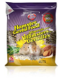 MARTIN'S Extruded Hamster and Gerbil Food Small Animal 1X500G