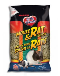 MARTIN'S Mouse Rat Ration Small Animal 1X1KG