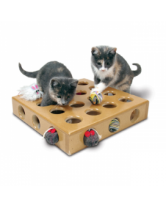 Smart Cat Peek a Prize Toy Box with 2 Toys Cat 1X1PC