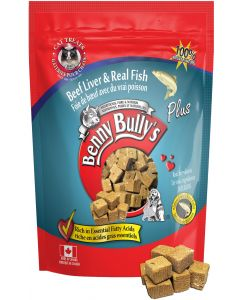 BENNY BULLY Beef Liver Plus Fish Cat 1X12X25G