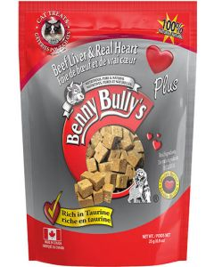 BENNY BULLY Beef Liver Plus Heart Cat 1X12X25G