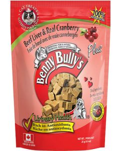 BENNY BULLY Beef Liver Plus Cranberry Cat 1X12X25G