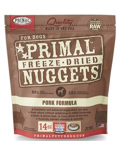 Primal Freeze Dried Pork Dog 1X14OZ