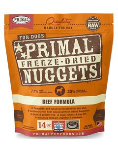 Primal Freeze Dried Beef Dog 1X14OZ