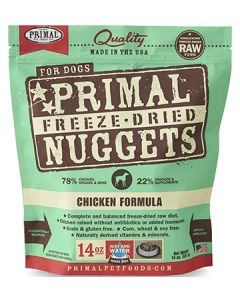 Primal Freeze Dried Chicken Dog 1X14OZ