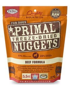 Primal Freeze Dried Beef Dog 1X5.5OZ