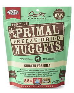 Primal Freeze Dried Chicken Dog 1X5.5OZ