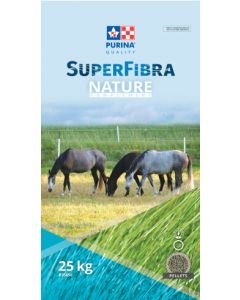 Purina Chow SuperFibra Nature Complement Horse 1X25KG