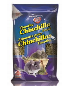 MARTIN'S Extruded Timothy Chinchilla Food Small Animal 1X1KG